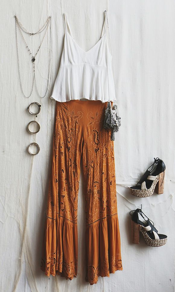 Boho Date Outfit