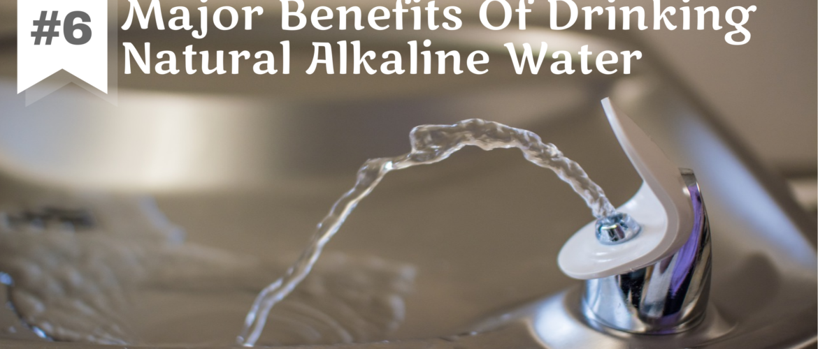 Drinking Alkaline Water