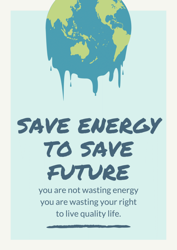 Let's Join hands to Save Energy