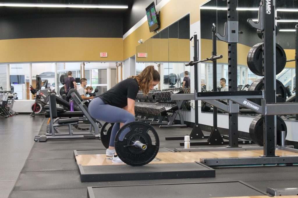 Weight Lifting By Women