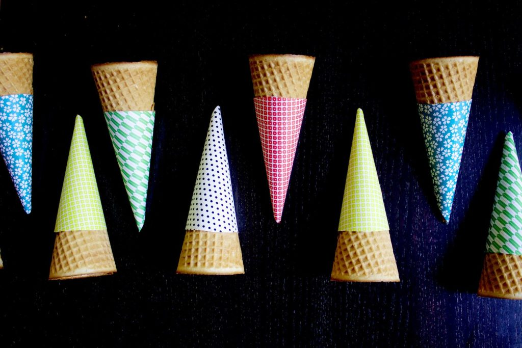 Different Types Of Ice Cream Cone Sleeves
