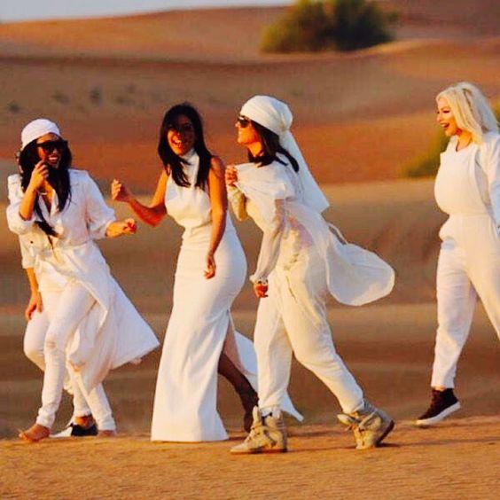 Kim Kardashian at Desert Safari Dubai