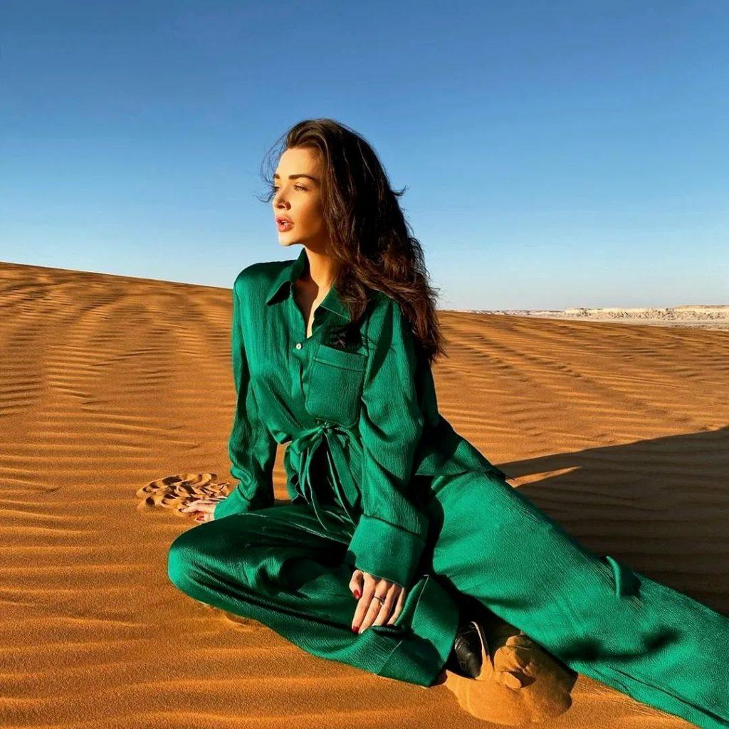 Amy Jackson Desert Safari Dubai