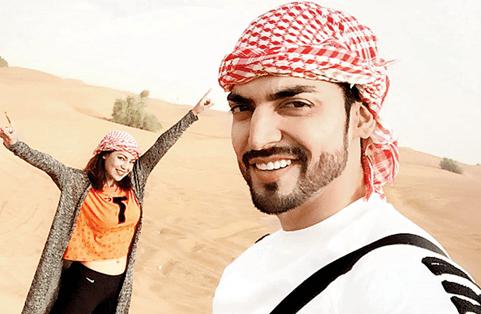 Gurmeet Chaudhary Dubai Desert Safari