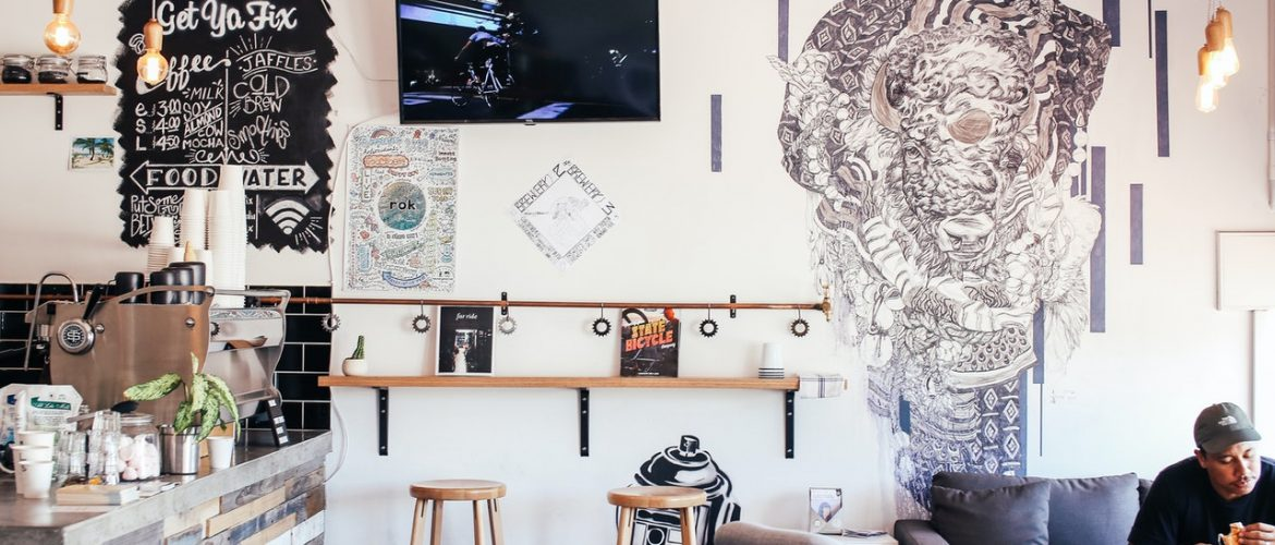 How An Appealing Wall Design Can Lure More Customers?