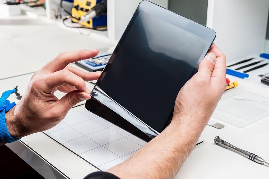 repairing the iPad screen
