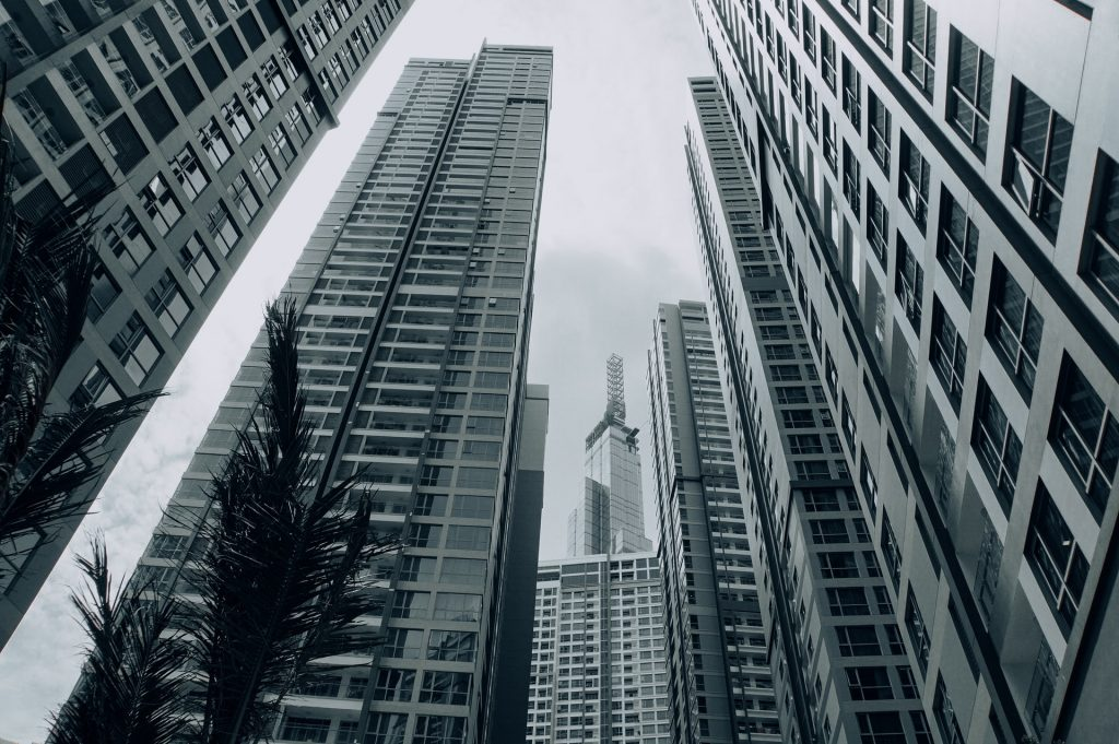 living in commercial property